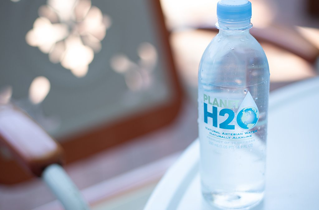 planet h2o works swiftly to put premium drinking water brand on the map