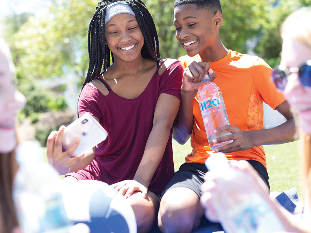 Staying hydrated can improve the quality of your kissing!